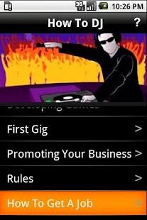 How To DJ - screenshot thumbnail