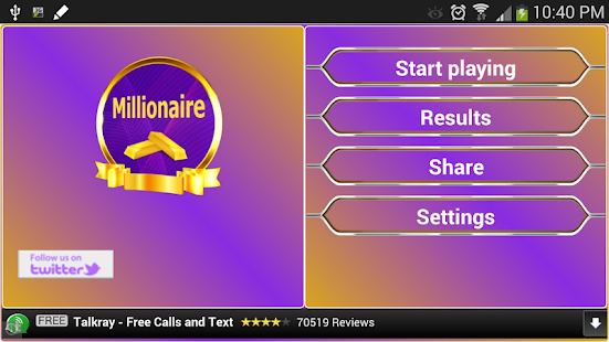Millionaire for PC-Windows 7,8,10 and Mac apk screenshot 5