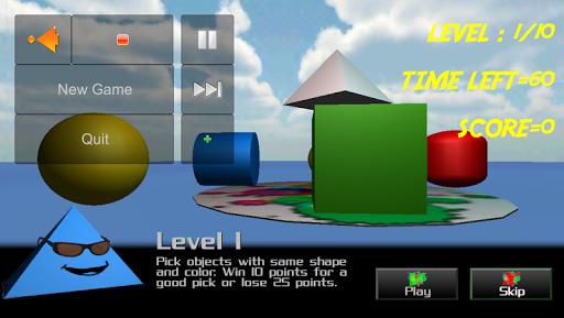 Color Match 3D Brain Training
