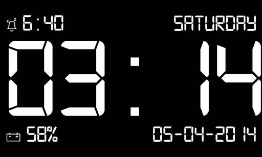 碼頭站數字時鐘