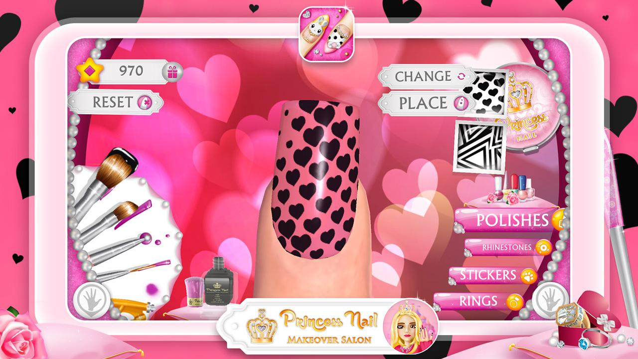 Princess Nail Makeover Salon- screenshot