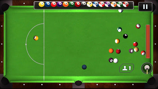 Pool Billiards; Play Snooker