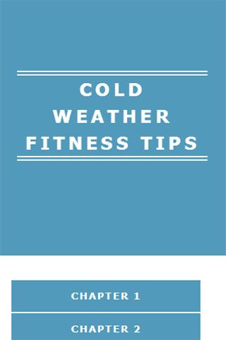 COLD WEATHER FITNESS TIPS