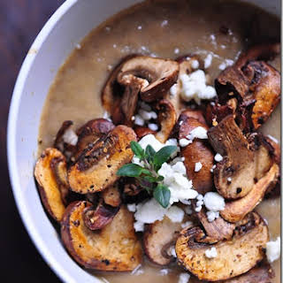 Vegan Mushroom Soup.
