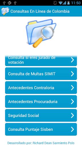 Consultas En Línea de Colombia