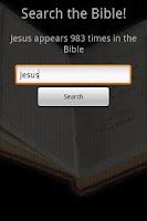 Screenshot of Bible Search