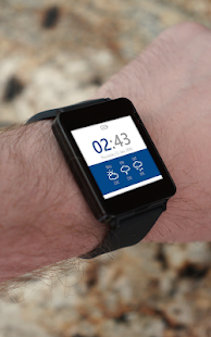 Material Design Watch Face- screenshot thumbnail
