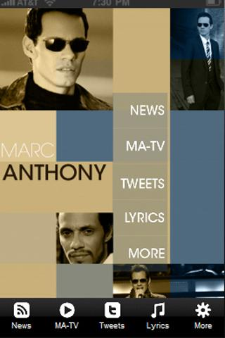 Marc Anthony TV (New) - screenshot