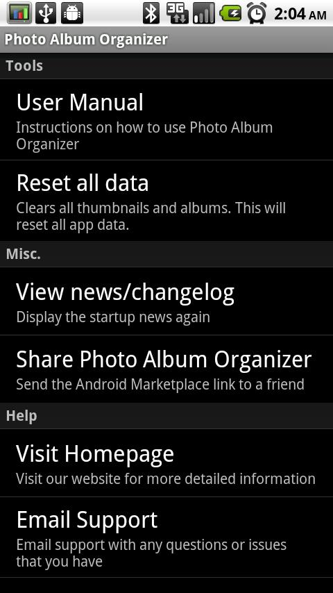 Photo Album Organizer- screenshot