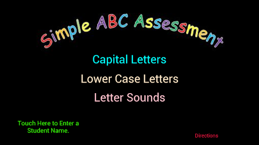 Simple ABC Assessment