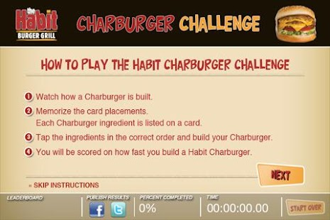 The Habit Charburger Challenge - screenshot thumbnail