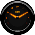 Laser Clock Widget A-KAIO icon