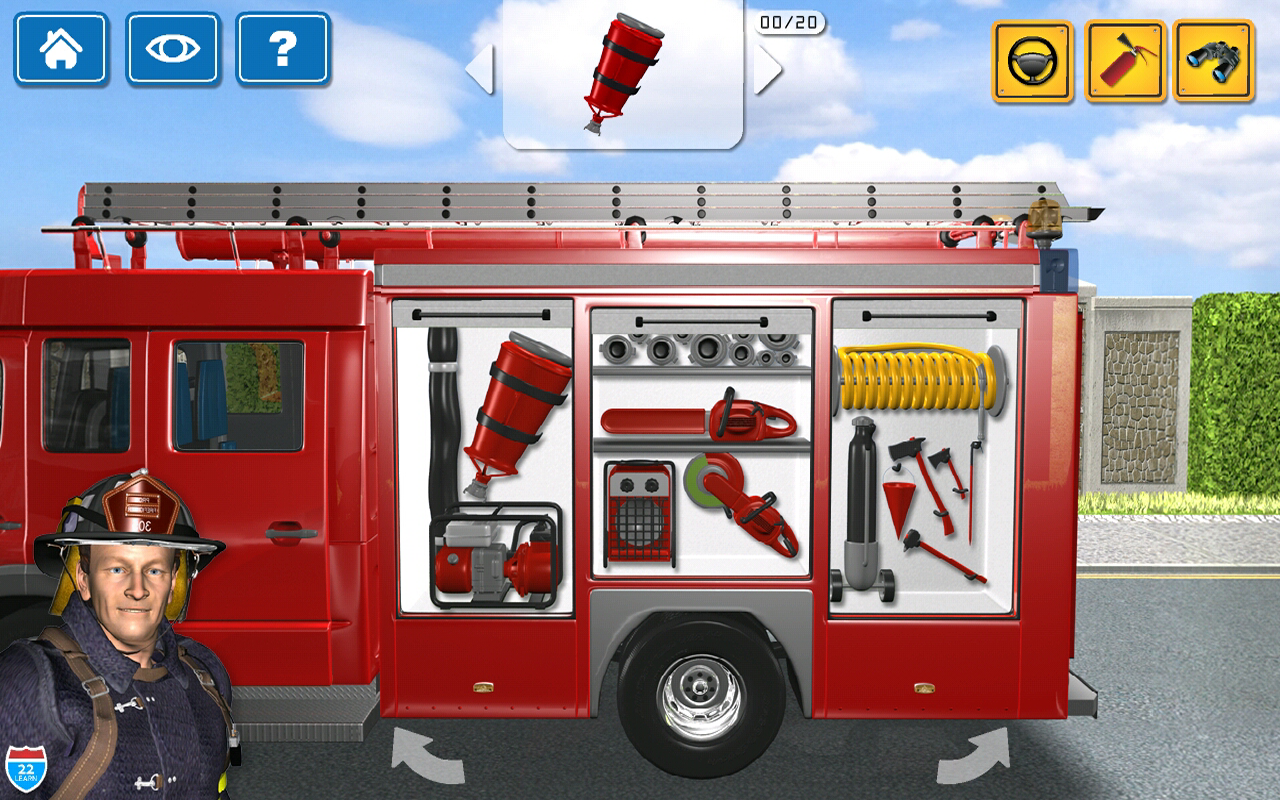 Fire Truck Games for Kids- screenshot