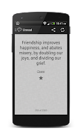 Screenshot of D&M Quotes