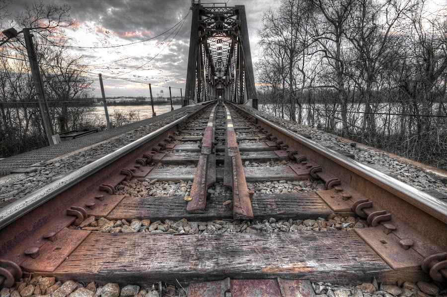 by Brian Gauger - Transportation Railway Tracks (  )