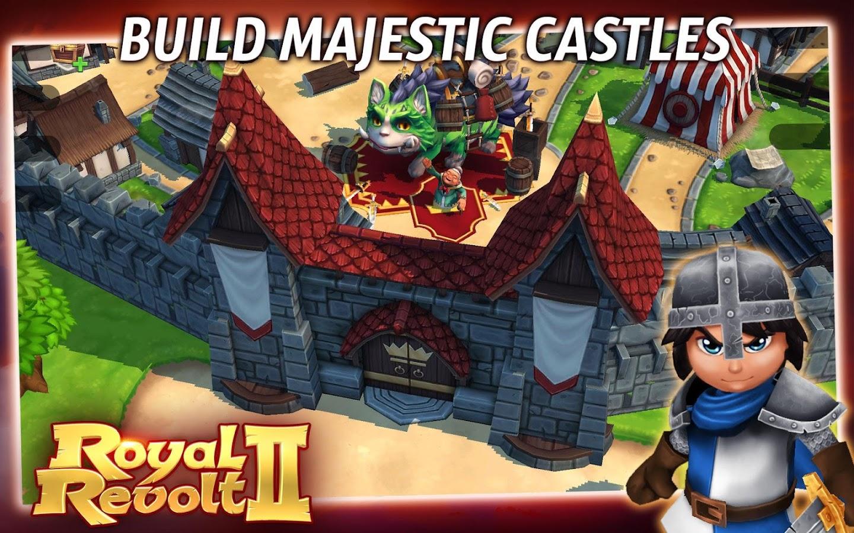 Royal Revolt 2 - screenshot