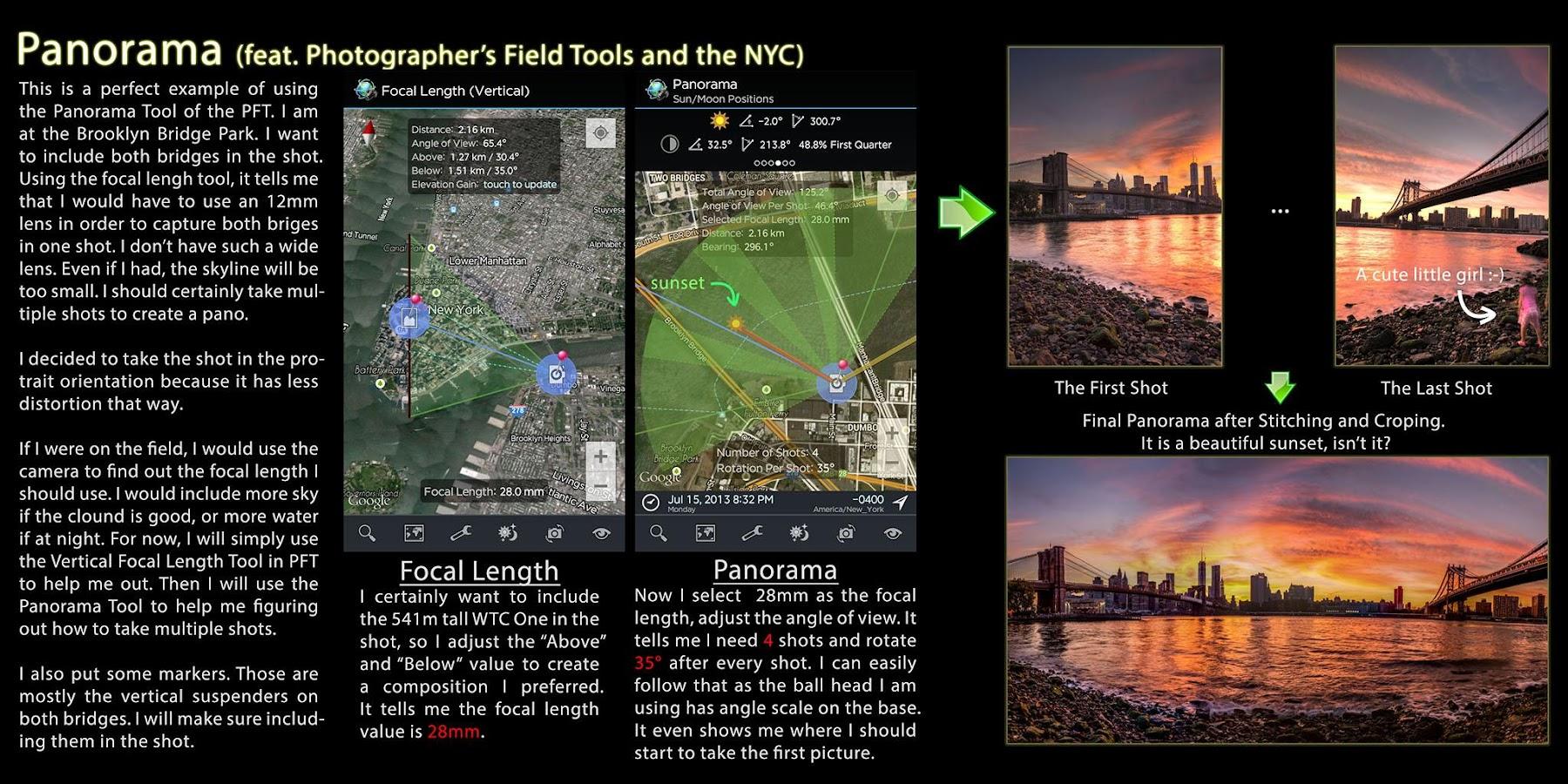 Photographer Field Tools (Pro) alkalmazás