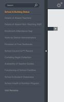 Screenshot of PMIU School Monitoring