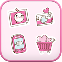 Sweetgirl icon theme icon