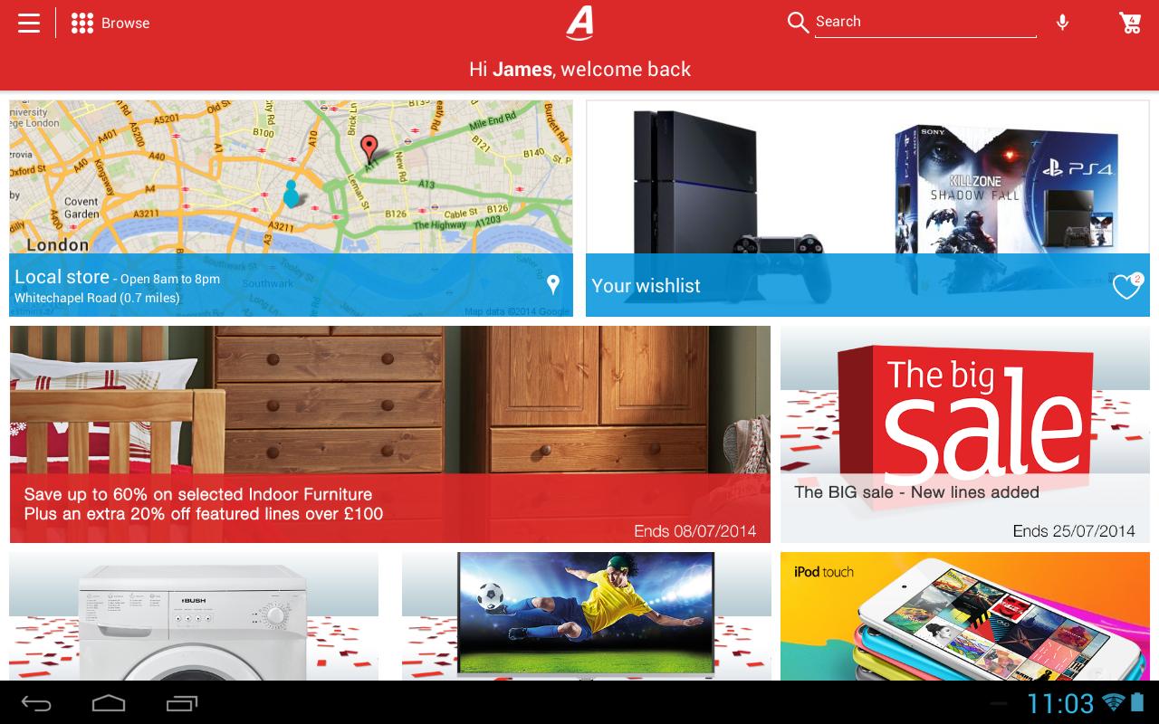 Argos - screenshot