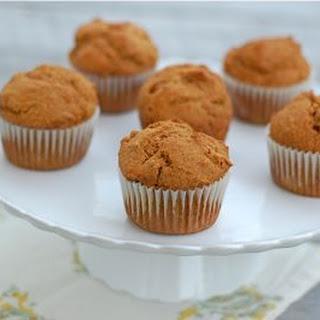 Whole Spelt Pumpkin Muffins (Pictured Above)