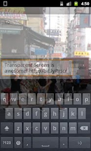 Transparent Screen - screenshot thumbnail