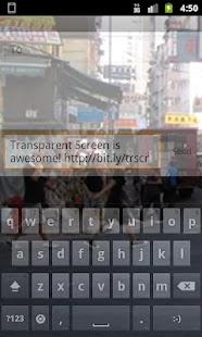 Transparent Screen - screenshot thumbnail