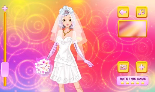 Elegant Bride Dress Up - screenshot thumbnail