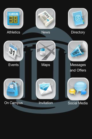 UNC Mobile - screenshot