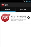 Screenshot of GIS