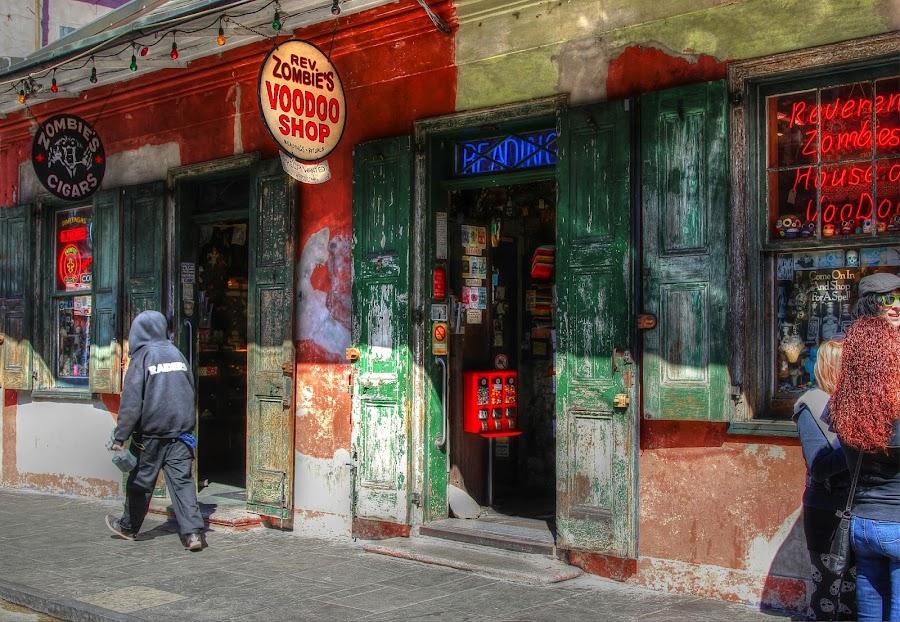The French Quarter by Edina Zsarnai - City,  Street & Park  Street Scenes ( old, life, colorful, vintage, edina zsarnai, happiness, historical, town, sun, street photography, city,  )