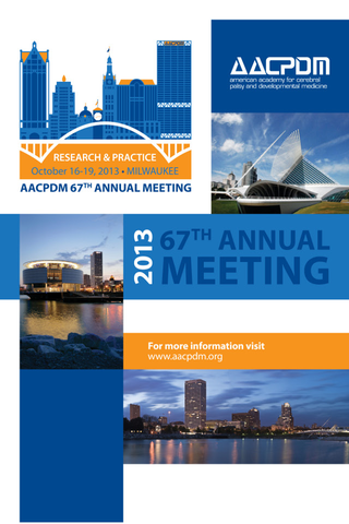 AACPDM 67th Annual Meeting '13