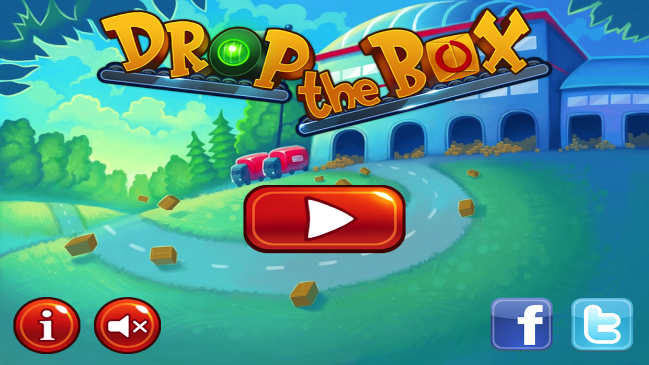 Drop the Box lite- screenshot