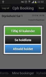 Copenhagen Booking App - screenshot thumbnail