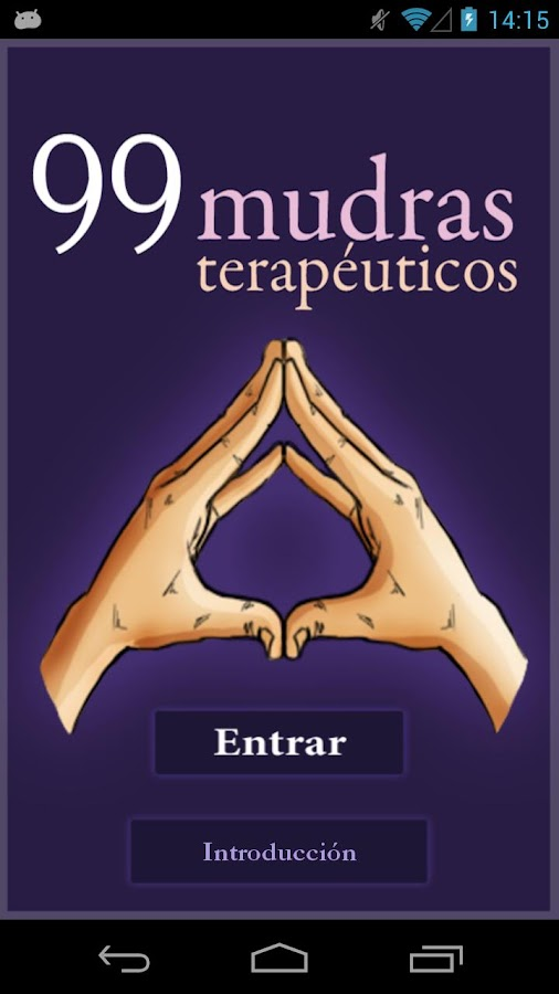 Mudras for Meditation - screenshot