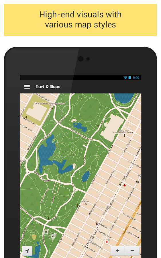 GPS Navigation & Maps +offline - screenshot