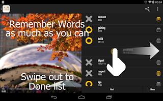 Screenshot of Japanese Word Listening! 10000