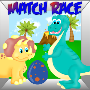 Dinosaur Toddlers Match Race for PC and MAC