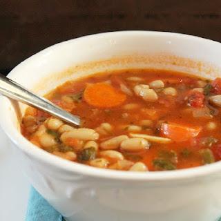 Fat Burning Vegetable Bean Soup.