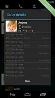 Screenshot of Swipe Dialer Free