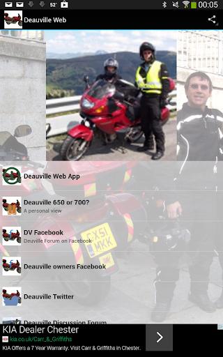Deauville Web Honda bikes