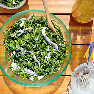 Collard Green Slaw with Anchovies