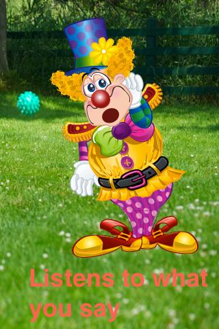 Talking Clown - screenshot