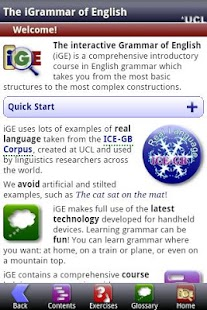 iGE Lite: iGrammar of English- screenshot thumbnail