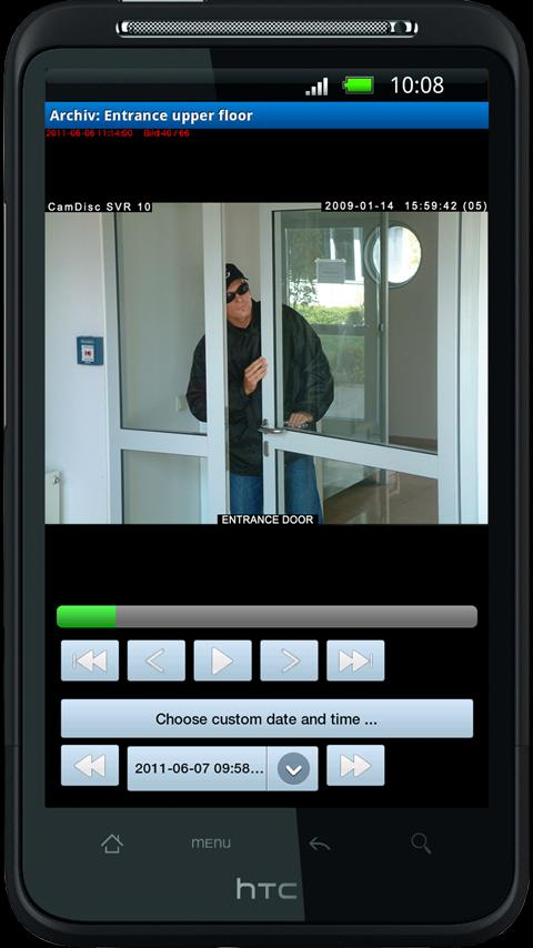 CamControl Android - screenshot