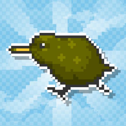 Flying Kiwi - Dot Swipe Action LOGO-APP點子