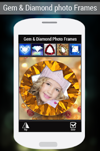 Gem & Diamond Photo Frames screenshot 4