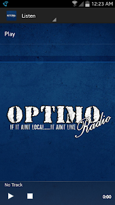 Optimo Radio screenshot 1