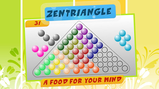Zen Triangle : board puzzle