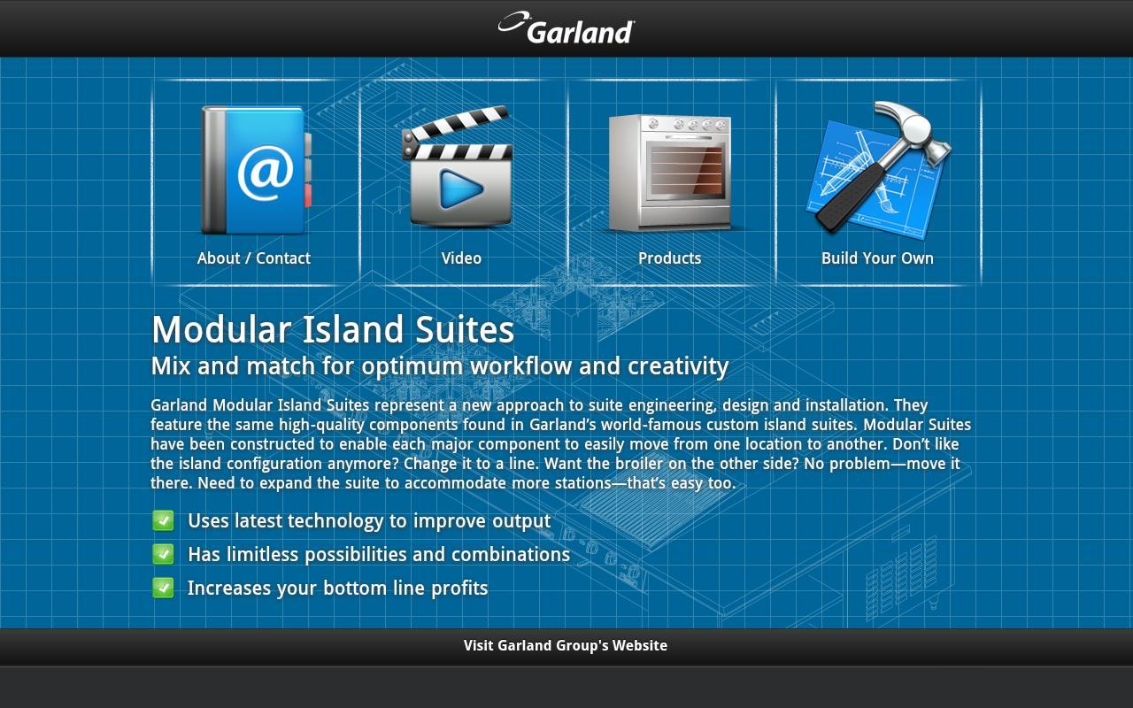 Manitowoc Garland Suites- screenshot